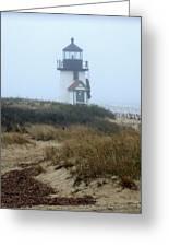 Nantucket Brant Point Light Greeting Card