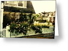 Nantucket Cottage Greeting Card