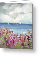 Nantucket Sea Roses Greeting Card