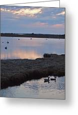 Nantucket Sunset Greeting Card