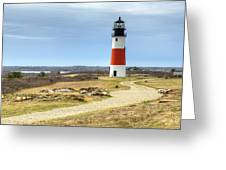Nantucket's Sankaty Head Light Greeting Card