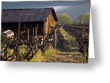 Napa Morning Greeting Card