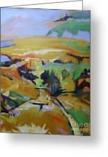 Napa Valley Perriwinkle Sky Greeting Card