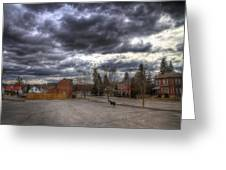 Napanee Sky Easter Greeting Card