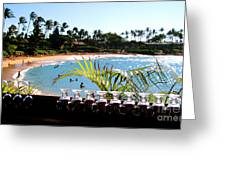 Napili Bay Maui Hawaii Greeting Card