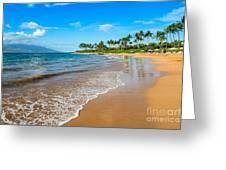 Napili Beach Paradise Greeting Card