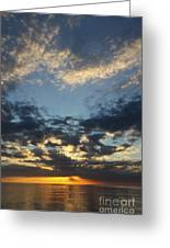 Naples Beach Sunset Greeting Card