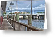 Naples Florida Waterfront Greeting Card