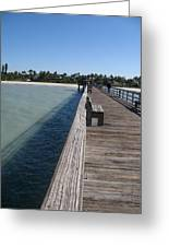 Naples Historic Pier Greeting Card