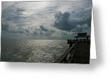 Naples Pier Greeting Card