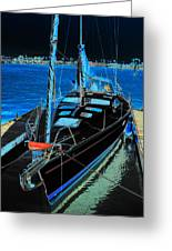 Naples Yacht Greeting Card