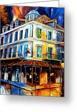 Napoleon House Greeting Card