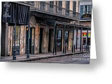 Napoleon House In French Quarter Greeting Card