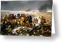 Napoleon On The Battlefield Of Eylau Greeting Card