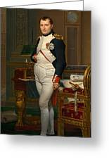 Emperor Napoleon In His Study At The Tuileries Greeting Card