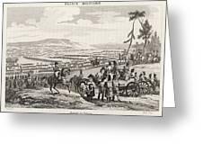 Napoleon's Army Crosses The  Neman Greeting Card
