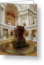 Napoleon's Tomb - A Different View  Greeting Card