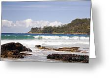 Narrawallee Beach On The South Coast Of New South Wales Australia Greeting Card
