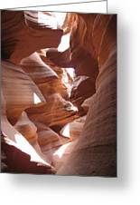 Narrow Canyon I Greeting Card