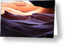 Narrow Canyon Xviii Greeting Card