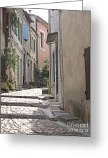 Narrow Lane - Arles Greeting Card