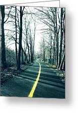 Narrow Path Greeting Card