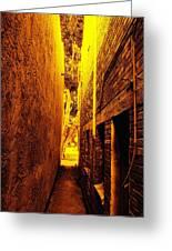 Narrow Way To The Light Greeting Card