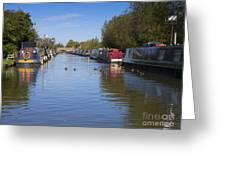 Narrowboats Greeting Card