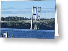 Narrows Bridge IIi Greeting Card