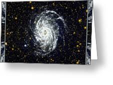 Nasa Big Brother To The Milky Way Greeting Card