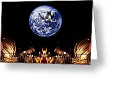 Nasa Company Picnic Greeting Card