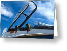 Nasa F-18 Greeting Card