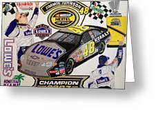 Nascar 2007 Champion Greeting Card