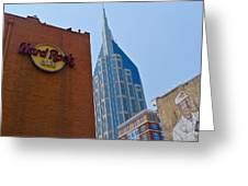 Nashville Downtown Greeting Card