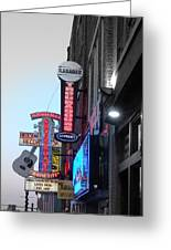 Nashville Neon Greeting Card