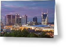 Nashville Skyline Greeting Card