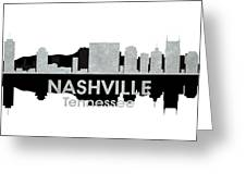 Nashville Tn 4 Greeting Card by Angelina Vick