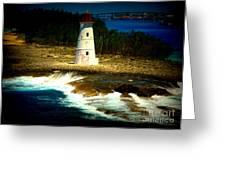 Nassau Lighthouse Greeting Card