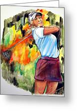 Natalie Gulbis Greeting Card