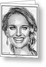 Natalie Portman In 2011 Greeting Card