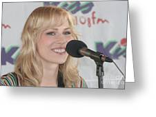 Natasha Bedingfield Greeting Card