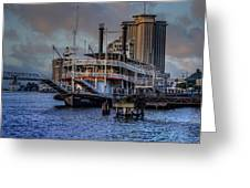 Natches Riverboat Greeting Card