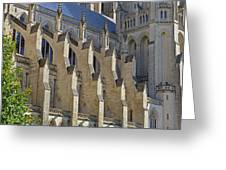 National Cathedral Exterior Greeting Card