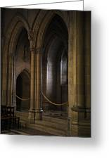 National Cathedral Interior Greeting Card