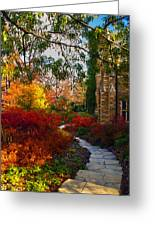 National Cathedral Path Greeting Card