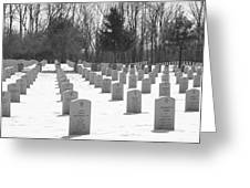 National Cemetery   # Greeting Card