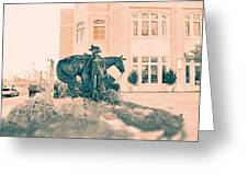 National Cowgirl Museum V2 Greeting Card