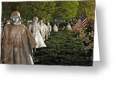 National Korean War Memorial  Greeting Card