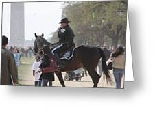 National Mall - Washington Dc - 01136 Greeting Card