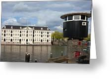 National Maritime Museum In Amsterdam Greeting Card